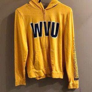 WVU Full Zip Hoodie